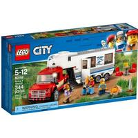 Lego City Pickup & Caravan 60182