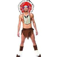 Smiffys Village People Indian Style Costume