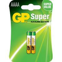 GP Batteries 25A AAAA/LR61 Super 2-pack