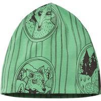 Mini Rodini Fox Family Beanie - Green (1776510075)