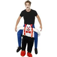 Smiffys Sinister Clown Piggy Back Costume