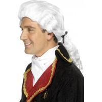 Smiffys Court Wig White