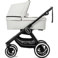 Emmaljunga -  NXT90 Leatherette Stroller, Go Double And Carrycot