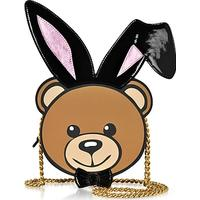 Moschino Eco Leather Teddy Playboy Shoulder Bag