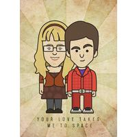 Bernadette & Howard - Big Bang Theory