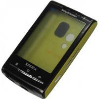 Sony Ericsson X10 Mini Komplett Skal - Gul