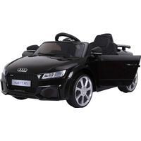 Audi TT RS ELBil til børn 12V m/2.4G Fjernbetjening, Sort