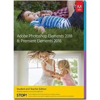Adobe Photoshop Elements 2018 & Premiere Elements 2018 Student and Teacher Edition -