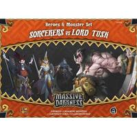 Guillotine Games Massive Darkness: Heroes & Monster Set Sorcerers vs Lord Tusk