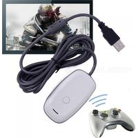 Consumer Electronics PC Wireless Gaming Receiver for XBOX 360 Controller - White + Grey