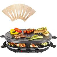 Andrew James Traditional Raclette Colour: Black