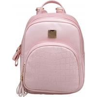 Synthetic Leather Solid Shoulder Bag Backpacks for Woman