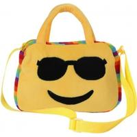 Yellow 9 Kids Emoji Face Girl Boy School Crossbody Bags