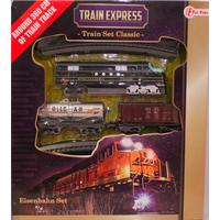 Classic train express tåg set