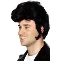Smiffys Rockstar Wig Black