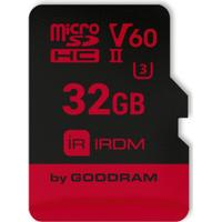 GOODRAM RDM MircoSDHC UHS-II U3 V60 280/110MB/s 32GB+Adapter