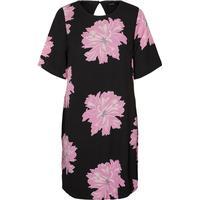 Vero Moda Feminine Short Sleeved Dress Black/Black (10193187)