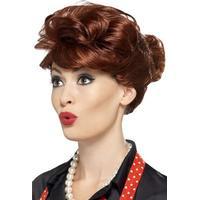 Smiffys 50's Housewife Wig