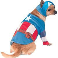 Rubies Captain America Dog Costume