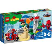 Lego Duplo Spider-Man og Hulks Eventyr 10876