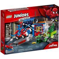 Lego Juniors Spider Mans Gadekamp mod Scorpion 10754
