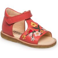 ANGULUS Sandals - Flat 2408 CORAL RED