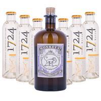 Monkey 47 Schwarzwald Dry Gin + 1724 Tonic Water