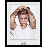 Justin Bieber Hair - 16 x 12 Inches Framed Photograph