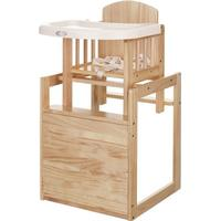 OBaby Combination Wooden Highchair