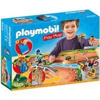 Playmobil 9329 PLAYMOBIL Play Map Motocross