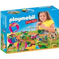 Playmobil 9331 PLAYMOBIL Play Map Ponyudflugt