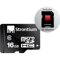 Strontium Micro SDHC kort - 16 GB - Class 6