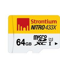 Strontium Nitro Micro SDXC kort - 64 GB - UHS-I U1 - Class 10