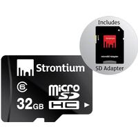 Strontium Micro SDHC kort - 32 GB - Class 6