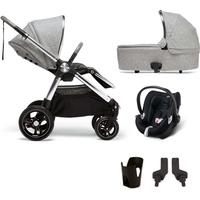 Mamas & Papas Ocarro 5-Piece Bundle - Skyline Grey