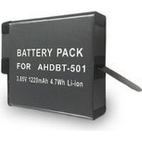 eQuipIT Batteri för GoPro Hero 5 AHDBT-501 1250mAh 3.85V