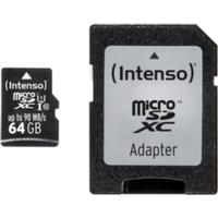 Intenso Intenso Micro SD 64GB UHS-I Professional 4034303022366