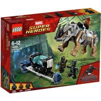 Lego Super Heroes Rhino Face Off by the Mine 76099