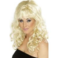 Smiffys Beehive Beauty Wig Blonde