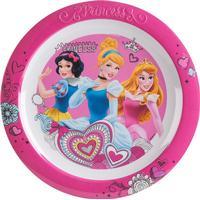 Flad tallerken i melamin fra Trudeau - Disney Princess