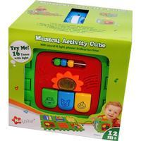 Play Aktivitetskub som kan vecklas ut 20 x 20 cm One Size