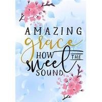 Amazing Grace: Christian Journal Notebook with Bible Verse Scripture Quote: Floral Inspirational Gifts for Religious Women & Girls (Häftad, 2017)