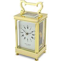 David Peterson Captains Clock 8 day Mechanical Carriage Clock. DP/CC