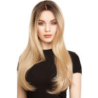 Lace Front Peruk - Long #Chocolate Brown/Scandinavian Blond 60 cm