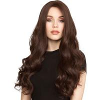 Lace Front Peruk - Long Curly #Coffee Brown 60 cm