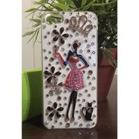 Not specified Apple Iphone 4 4S Skal Fodral Case 3D Cover (Diva)