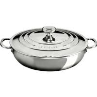 Le Creuset Signature Stainless Steel Schmorrkasserolle 30cm