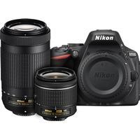 Nikon D3400 + AF-P 18-55mm VR + AF-P 70-300mm VR