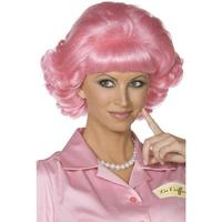 Smiffys Frenchy Wig Pink