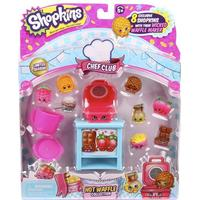 Shopkins Wicked Waffle Maker 8-Pack, Season 6, Shopkins
